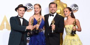 Oscar winners 2016 | ELLE UK