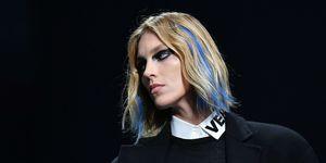 Versace AW17 Hair