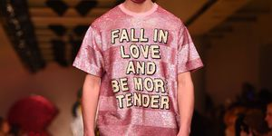 Ashis fights for your right to love at london fashion week