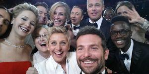 Oscar selfie | ELLE UK