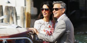 Amal and George Clooney in Venice | ELLE UK