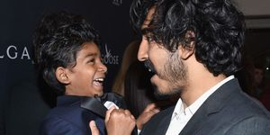 Dev Patel Sunny Pawar from the film Lion