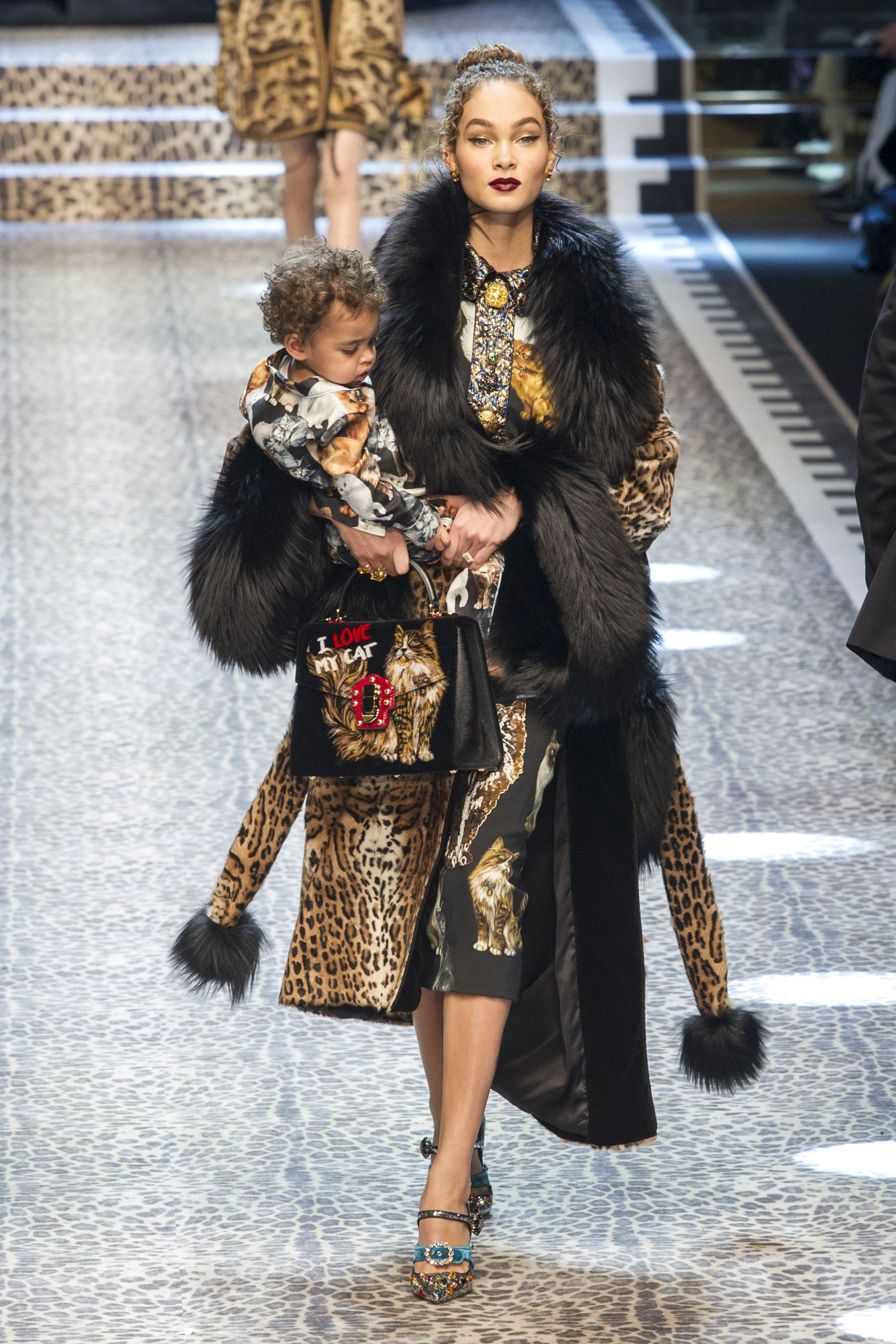 All the looks from the Dolce & Gabbana AW17 Collection Milan Fashion Week