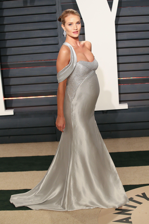 Rosie Huntington-Whiteley Pregant At The Oscars 2017