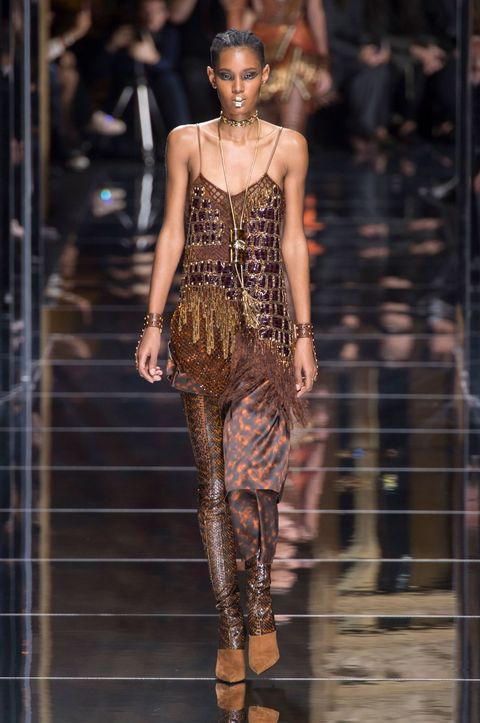Balmain Autumn Winter 2017 Paris Fashion Week