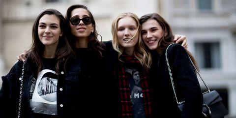 Milan Fashion Week Autumn Winter 2017 Model Off Duty Day 5