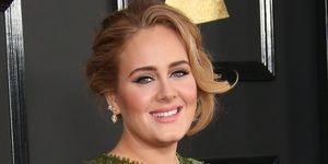 Adele at 2017 Grammys | ELLE UK
