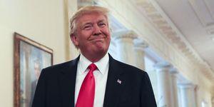 Donald Trump in White House | ELLE UK