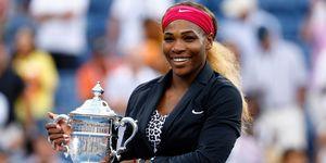 Serena Williams Wins Open 2014 | ELLE UK