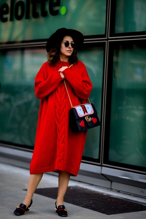 Milan Fashion Week Street Style Autumn Winter 2017