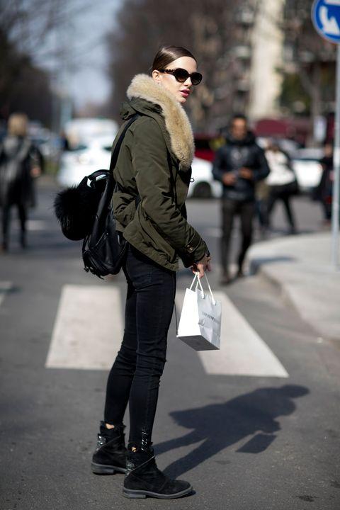 Milan Fashion Week Models Off Duty Day 5