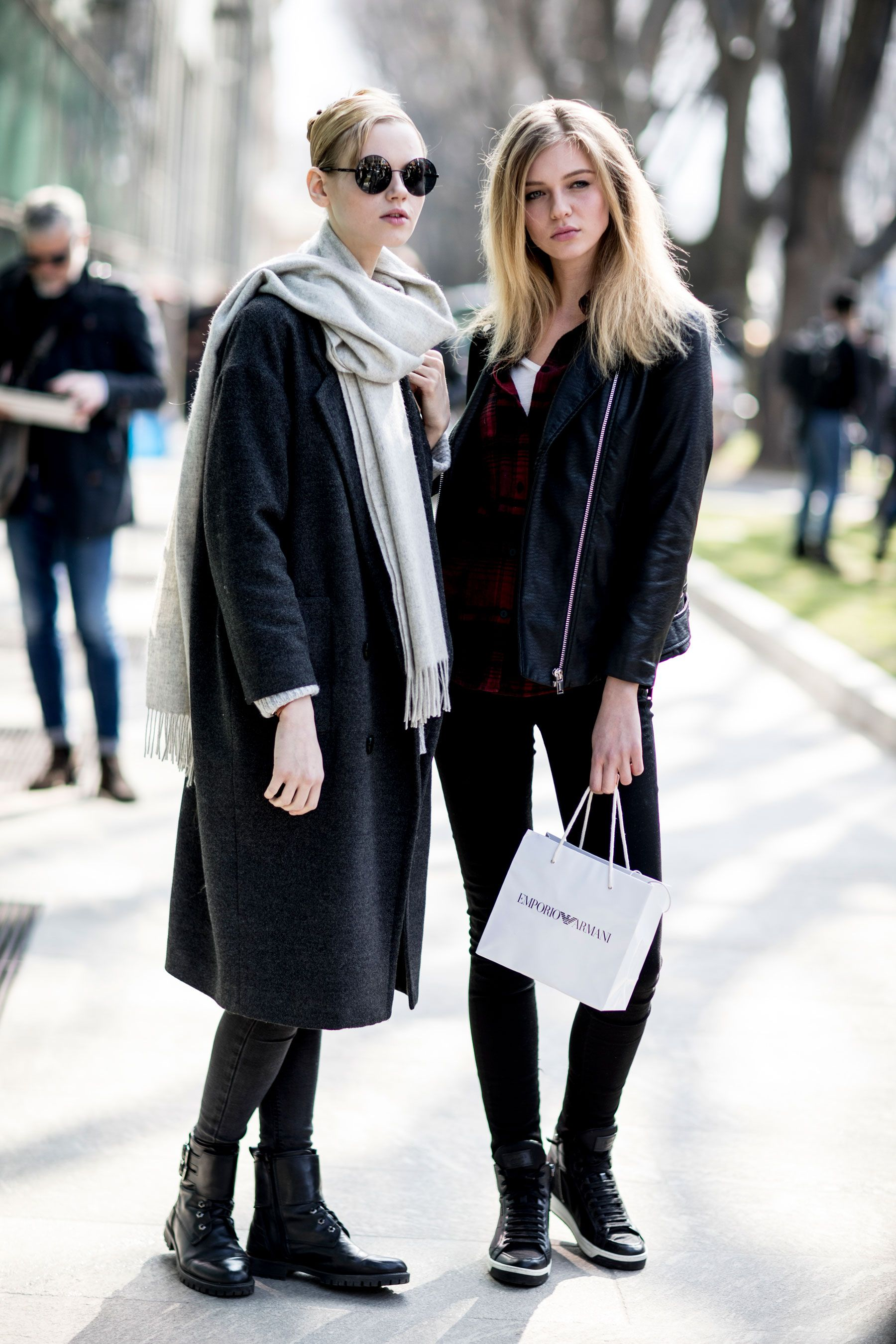 Milan Fashion Week Models Off Duty Day 5