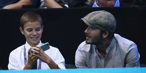 Romeo Beckham, David Beckham