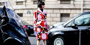 Paris Fashion Week Autumn Winter 2017 Street Style