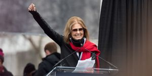 Gloria Steinem at Women's March | ELLE UK