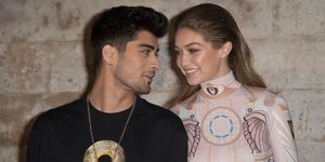 Zayn Malik and Gigi Hadid in Paris, 2016 | ELLE UK
