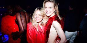 Sienna Miller Paris Fashion Week