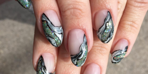 Geode Nail Trend 11 Nails Designs That Crystal Need In Their Lives