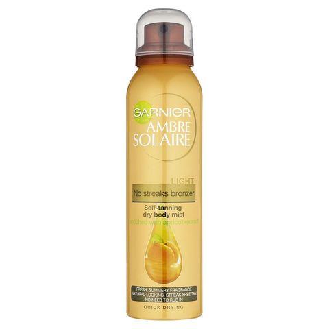 Garnier Ambre Solaire Self Tan Dry Body Mist