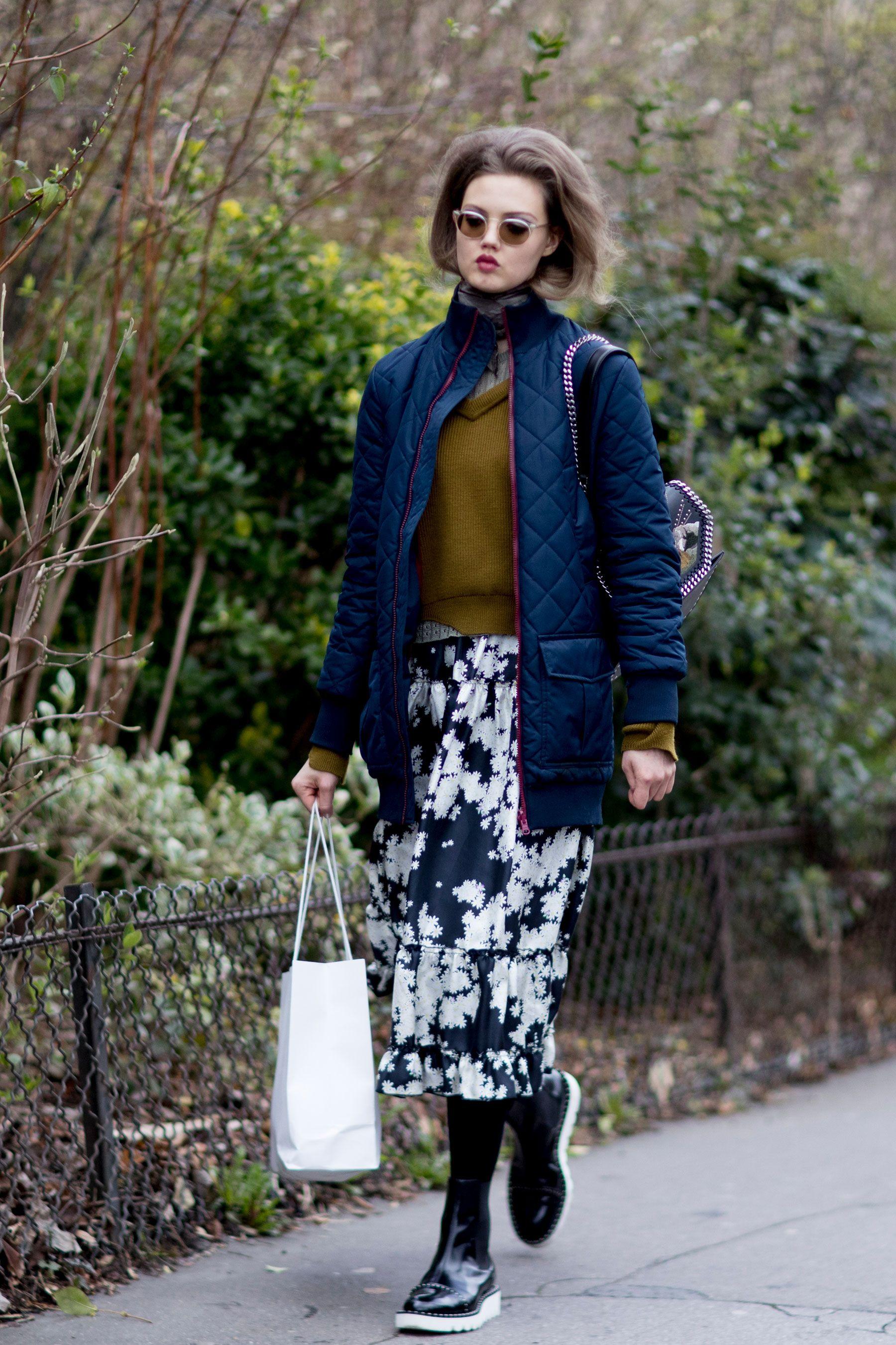 Paris Fashion Week Autumn Winter 2017 Models Off Duty
