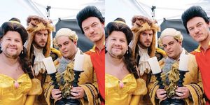 Beauty and the Beast and james corden