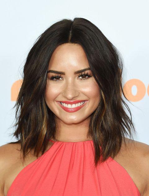 Demi Lovato New Bob