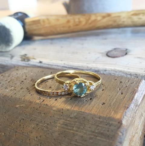 Alex Monroe Engagement Rings