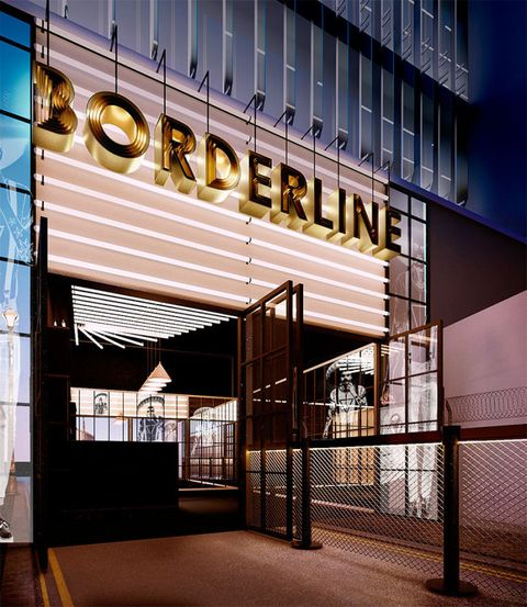 Borderline Club, Manette St, Soho, London