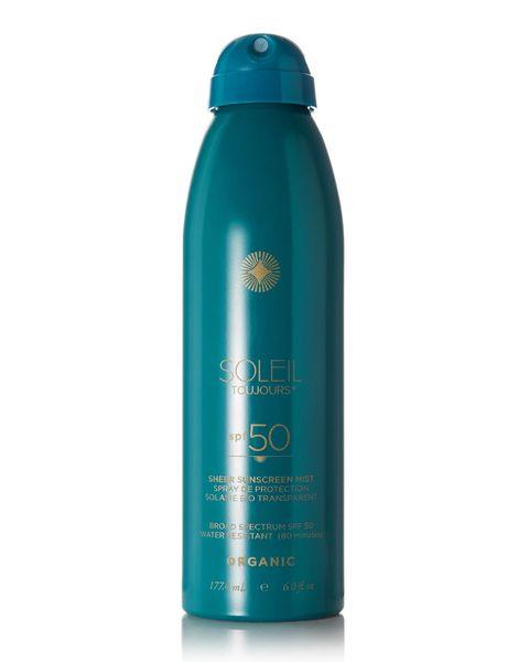 Soleil Toujours Organic Sheer Sunscreen Mist SPF50
