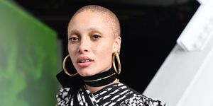 Adwoa Aboah Shaved Head