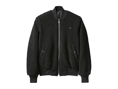 Adidas x Alexander Wang women's reversible bomber with fleece