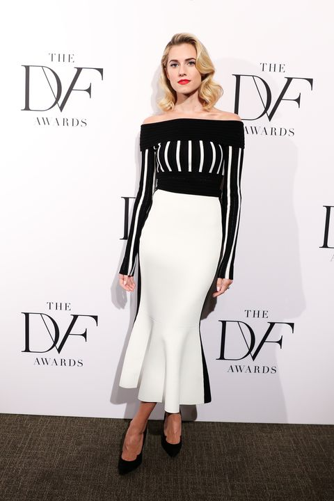 Alison Williams At The DVF Awards