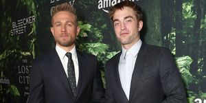 Charlie Hunnam, Robert Pattinson look awkward at The Lost City of Oz screening