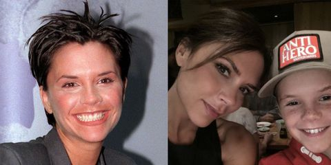 Victoria Beckham Eyebrows Before And After