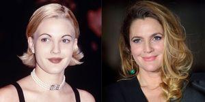 Celebrity Eyebrow transformations - Drew Barrymore