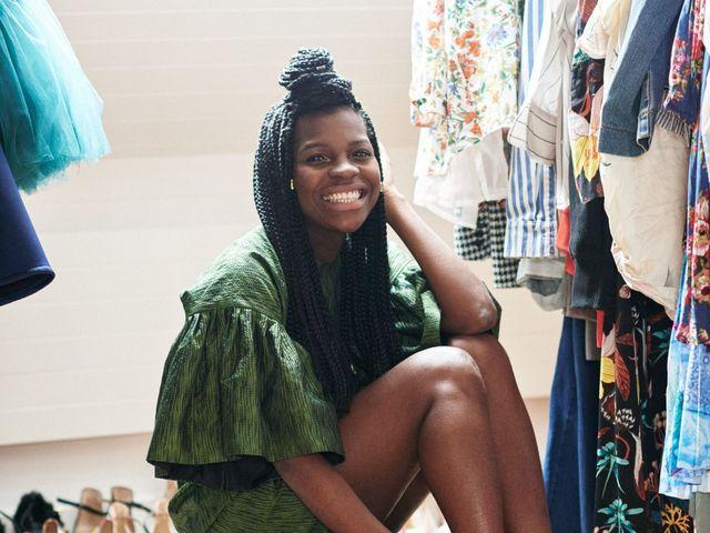 9eed1a04afc1 My world  Parisian fashion blogger and entrepreneur Fredérique ...