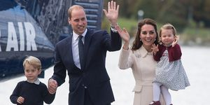 Prince George, Prince William, Kate Middleton, Princess Charlotte