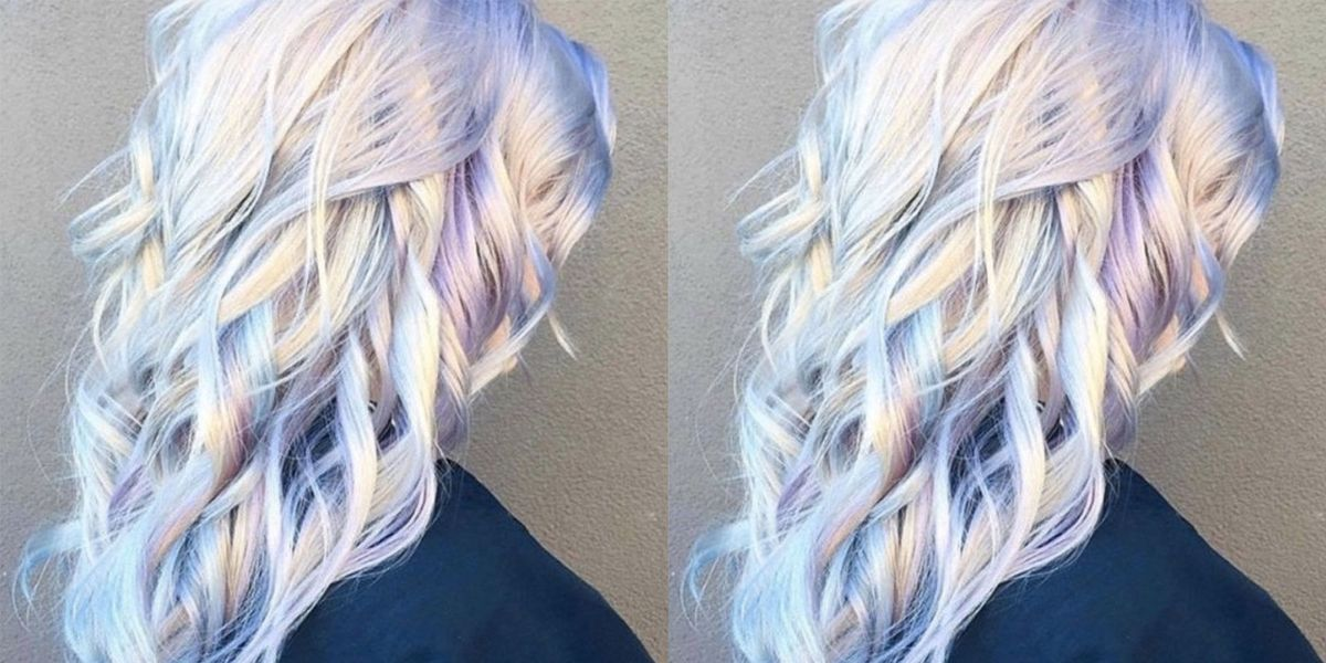 Holographic Hair Trend Why It S The Pastel Rainbow Colour Trend We
