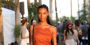 Jasmine Tookes at coachella music festival