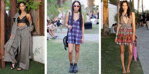 Celebrity festival fashion