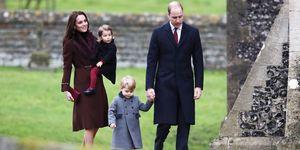 Royal family Christmas day | ELLE UK
