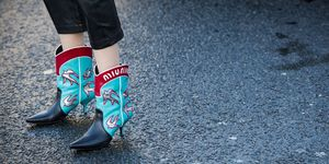 Miu Miu cowboy boots