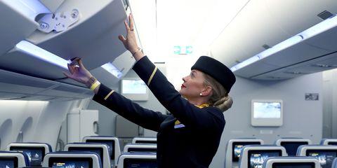 Flight attendant   ELLE UK