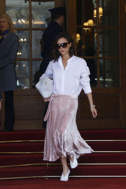 86c3ddb93e Victoria Beckham s Best Red Carpet And Fashion Moments Of All Time