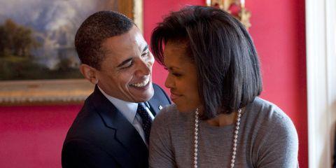 Barack and Michelle Obama   ELLE UK