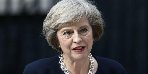 Theresa May | ELLE UK