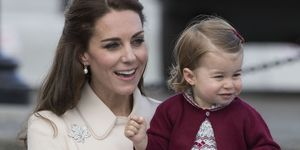 Kate Middleton and Princess Charlotte | ELLE UK