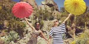 Samira Wiley and Lauren Morelli on honeymoon | ELLE UK