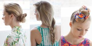Three Plait Hairstyles