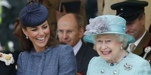 Kate Middleton and Queen Elizabeth II | ELLE UK